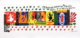 Mille et une nuits Sérigraphie par Henri Matisse