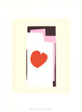 The Heart VII Silketrykk av Henri Matisse