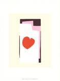 The Heart VII Serigrafie von Henri Matisse