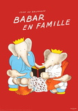 Babar  en Famille Lminas por Jean de Brunhoff