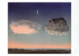 La Bataille de L&#39;Argonne Art by Rene Magritte
