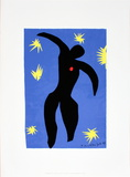 Icarus Serigraph by Henri Matisse