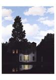 El imperio de las luces Láminas coleccionables por Rene Magritte
