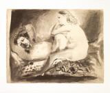 Im Schlafe Poster von Pablo Picasso