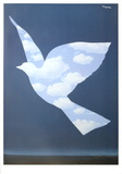 L&#39;Oiseau du Ciel Posters by Rene Magritte