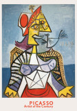 Femme a L'Oiseau Collectable Print by Pablo Picasso