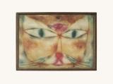 Cat and Bird Poster von Paul Klee