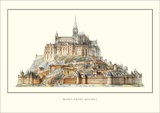 Mont Saint-Michel Art