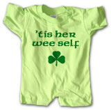 Infant: Tis Her Wee Self Infant Onesie