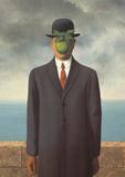 Le Fils de L'Homme (Son of Man) Kunst von Rene Magritte