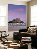 Mount Orgueil Castle, Grouville Bay in Gorey, Jersey, Channel Islands Wall Mural by Gavin Hellier