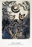 Creation Posters by Marc Chagall