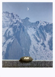 Die Domäne von Arnheim Poster von Rene Magritte