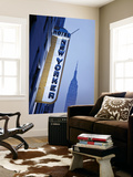 USA, New York City, Manhattan, New Yorker Hotel and Empire State Building Wall Mural by Gavin Hellier