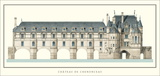 Chateau de Chenonceau, Loire Art by Philibert Delorme