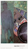 Verano Lmina coleccionable por Jasper Johns