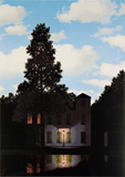 L'Empire des Lumieres Prints by Rene Magritte