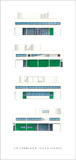 Villa Savoye, Nord-Est Prints by Le Corbusier 