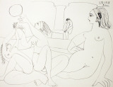 The Turkish Bath Reproductions pour les collectionneurs par Pablo Picasso