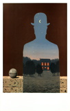 L'heureux Donateur Posters by Rene Magritte