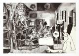 Las Meninas Kunst av Pablo Picasso