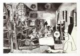 Las Meninas Collectable Print by Pablo Picasso