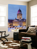 Germany, Berlin, Traditional Christmas Market at Gendarmenmarkt Wall Mural by Gavin Hellier