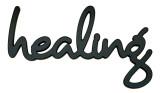 Healing Wood Sign