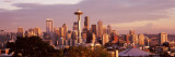 City Viewed From Queen Anne Hill, Space Needle, Seattle, King County, Washington State, USA 2010 Photographic Print