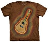 Acoustic Tie Dye T-shirts
