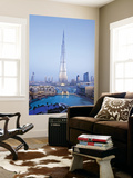 United Arab Emirates (UAE), Dubai, the Burj Khalifa Wall Mural by Gavin Hellier