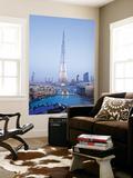 United Arab Emirates (UAE), Dubai, the Burj Khalifa Wall Mural by Gavin Hellier