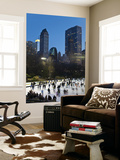 USA, New York City, Manhattan, Wollman Ice Rink in Central Park Wall Mural by Gavin Hellier
