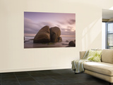 Colombia, Magdalena, Park Nacional Natural Tayrona, Arrecifes, Rocks in the Sea Wall Mural by Jane Sweeney