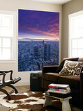 Germany, Hessen, Frankfurt-Am-Main, Financial District Skyline Wall Mural by Walter Bibikow