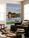 Small Island in Hardangerfjorden Nr Bergen, Western Fjords, Norway Wall Mural by Peter Adams