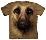 German Shepherd Face Shirt
