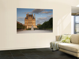Jardin Du Tuileries and Musee Du Louvre, Paris, France Wall Mural by Jon Arnold
