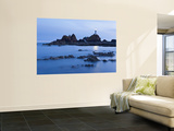 Corbiere Lighthouse at Dusk, Jersey, Channel Islands, UK Wall Mural by Gavin Hellier