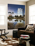 USA, Florida, Sarasota, Skyline and One Sarasota Tower Building Wall Mural by Walter Bibikow