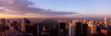 Cityscape at Sunset, Central Park, East Side of Manhattan, New York City, New York State, 2009 Photographic Print