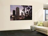 USA, Florida, Tampa, Skyline from Hillsborough River Wall Mural by Walter Bibikow