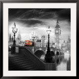 London Bus III Print by Jurek Nems