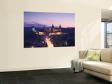 View of Old Castle at Dusk, Kamyanets-Podilsky, Podillya, UKraine Wall Mural by Ian Trower