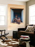 Hamer Woman with Baby Wall Mural by Peter Adams