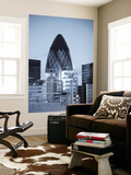 Swiss Re and Lloyd's of London, City of London, London, England Wall Mural by Jon Arnold
