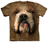 Bulldog Face T-shirts