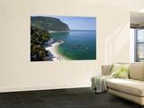 Beach, Sirolo, Marche, Italy Fototapete von Peter Adams
