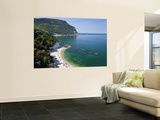 Beach, Sirolo, Marche, Italy Wall Mural by Peter Adams