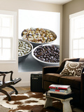 Colombia, Caldas, Manizales, Chinchina, Hacienda De Guayabal, Coffee Beans Wall Mural by Jane Sweeney